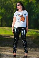 Женские модные лосины-леггинсы большого размера, фото 1