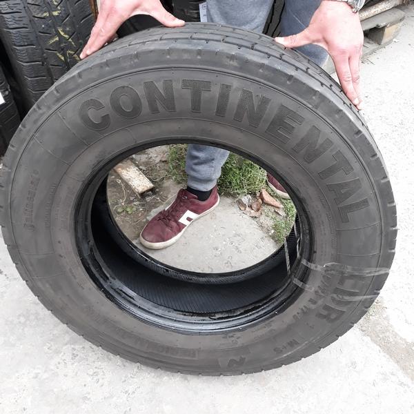 Шины б.у. 235.75.r17.5 Continental LDR1 Континенталь. Резина бу для грузовиков и автобусов