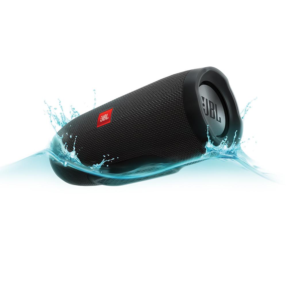 Колонка портативная беспроводная JBL Charge3 ДинамикBluetoothPowerbank Черный