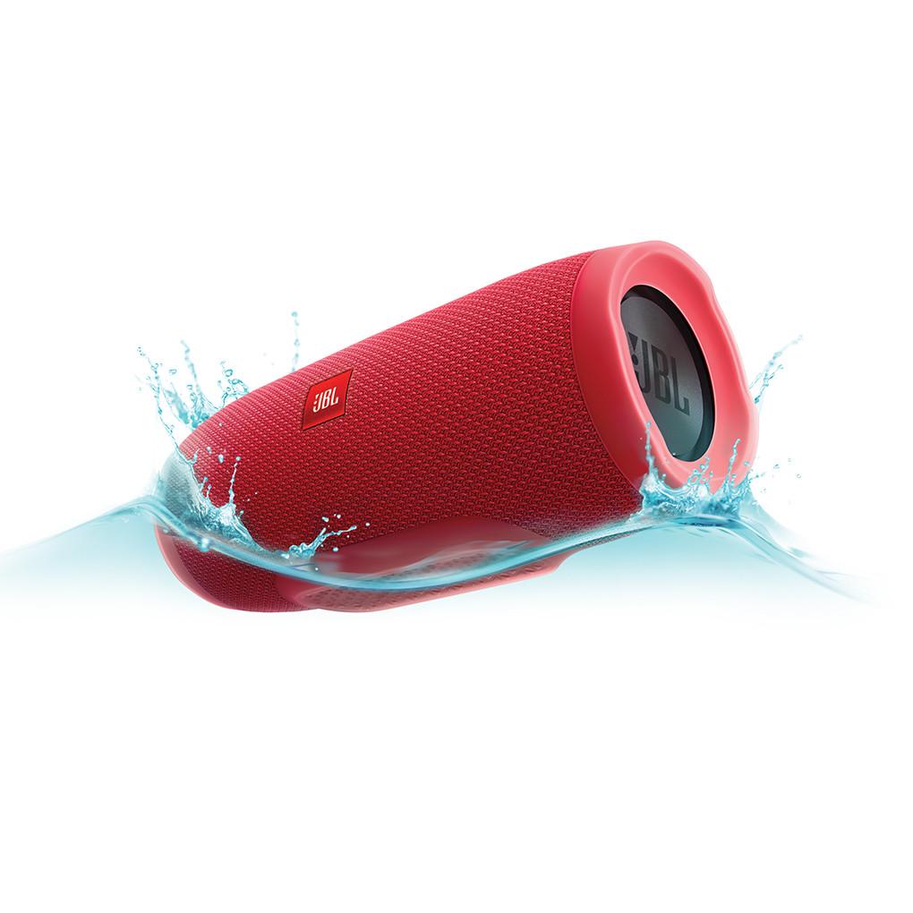 Колонка портативная беспроводная JBL Charge3 ДинамикBluetoothPowerbank Красный