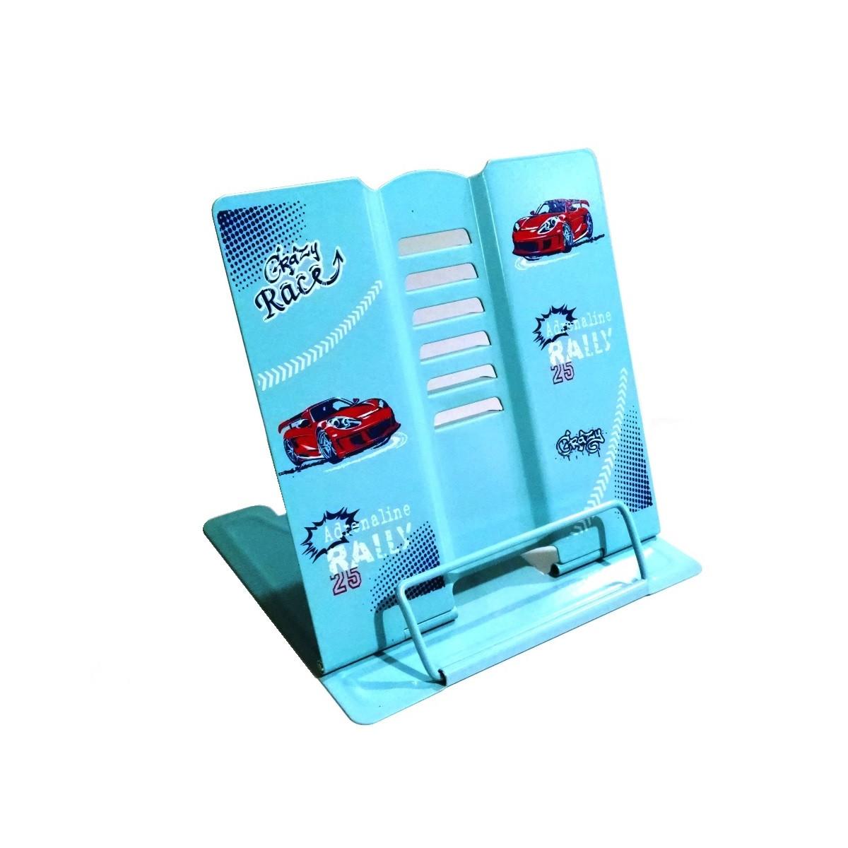 Подставка для книг металлическая Crazy race 7045