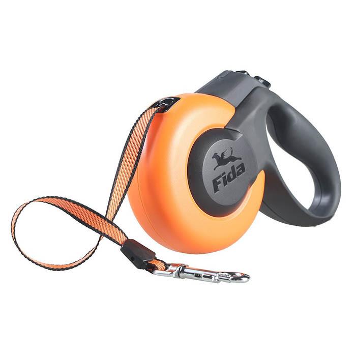 Поводок-рулетка для собак Fida MARSmini XS до 12 кг.