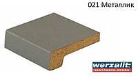 Подоконник Werzalit Exclusiv 200 мм, металлик., фото 1