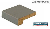 Подоконник Werzalit Exclusiv 350 мм, металлик., фото 1