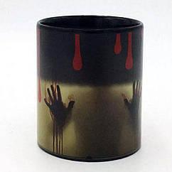 Чашка-хамелеон Привидение Черная КОД: 383133