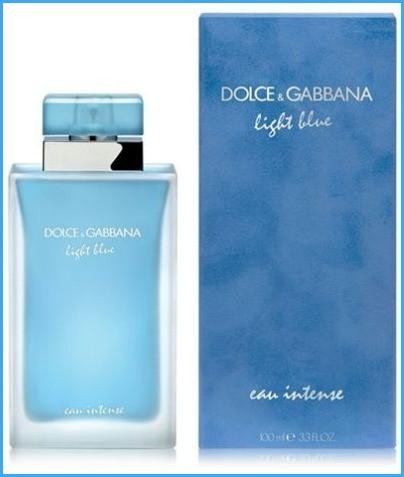 Жіноча парфумована вода Dolce&Gabbana Light Blue Eau Intense ( лайт блу интенз) 100 мл
