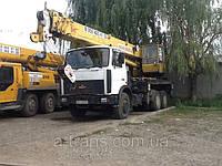 Аренда автокрана 25-32 тонны, услуги в Днепропетровске, фото 1
