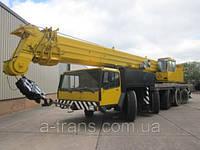Аренда автокрана 120 тонн, услуги в Днепропетровске