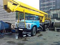 Аренда автовышки АГП-22, услуги в Днепропетровске