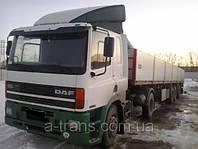 Аренда длинномера DAF 20 тонн, услуги в Днепропетровске