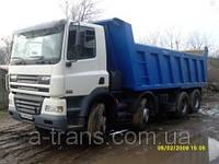 Аренда самосвала DAF 30 тонн, услуги в Днепропетровске, фото 1