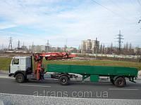 Услуги крана манипулятора до 20 тонн, аренда в Днепропетровске