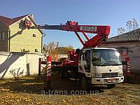 Аренда автовышки 32 метра, услуги в Днепропетровске, фото 1