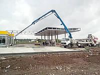 Аренда бетононасоса, услуги в Днепропетровске