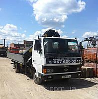 Услуги крана манипулятора 4 тонны, аренда в Харькове, фото 1