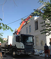 Услуги крана манипулятора 16 тонн, аренда в Харькове