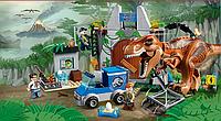 """Набор Конструктор Аналог Lego Jurassic World 10758 """"Побег Ти-Рекса"""", фото 1"""