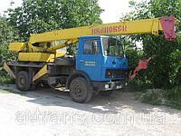 Аренда автокрана 14 тонн, услуги в Харькове, фото 1