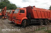 Аренда самосвала КАМАЗ 20 тонн, услуги в Киеве
