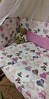 Комплект детского постельного белья без балдахина!