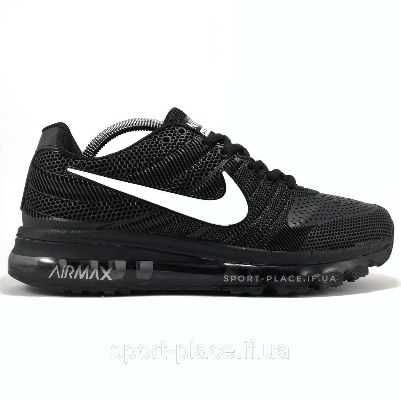 d3b8dffa Мужские кроссовки Nike Air Max 2017 black & white (лицензия) - Интернет  магазин одежды