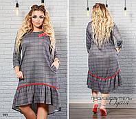 Потребительские товары  Теплое платье батал в Украине. Сравнить цены ... 452e9db3e1415