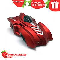 Антигравитационная машинка Wall Climber CAR P802 (Красная)