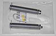 Комплект 00754869 пружина двери (2 шт.) + трос (2 шт.) для ПММ Bosch, Siemens