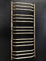 Высокий бронзовый полотенцесушитель 500*1200 Трапеция 15 АЗОЦМ латунь