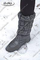 Женские дутики серые (Код: А-02), фото 1