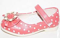 Туфельки для девочек оптом, 21-25 размер. Детская демисезонная обувь оптом