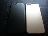 Пластиковый черный чехол для Iphone 6 6S, фото 1