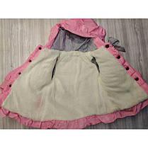 Куртка детская демисезонная  на девочку с жырафиком  осень/еврозима 1-3 года, фото 3