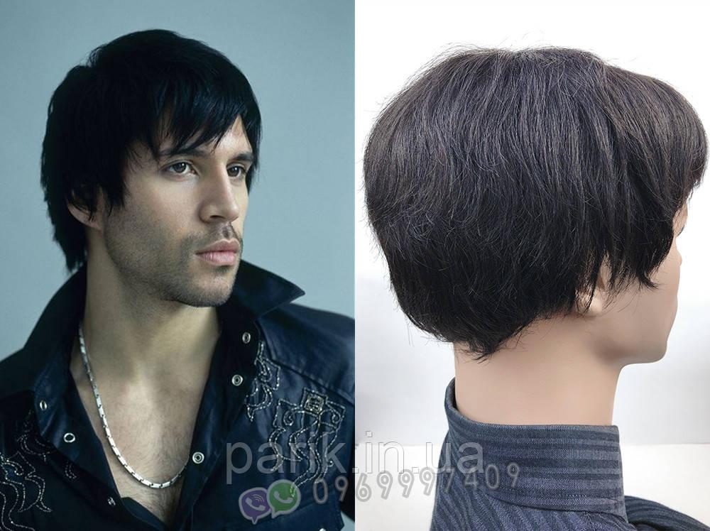Натуральний чоловічий парик