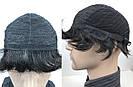 Натуральний чоловічий парик, фото 9