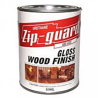 Zip-Guard лак уретановый особо прочный для наружных, внутренних работ 0,946 л Глянцевый