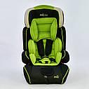 Дитяче автокрісло сіро-зелене JOY, фото 2