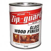 Zip-Guard лак уретановый особо прочный для наружных, внутренних работ 3,78 л Глянцевый