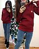 Женское худи на флисе с капюшоном в расцветках. ТУ-12-0319, фото 7