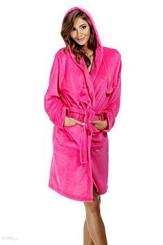 Яскравий плюшевий халат жіночий IRIS (розмір L/XL)