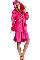 Яркий плюшевый халат женский IRIS (размер L/XL)