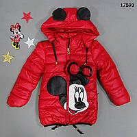 Демисезонная куртка Minnie Mouse для девочки. , фото 1