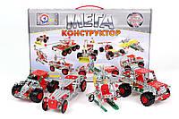 Металлический конструктор Мега универсал 381 деталь, КОД: 117070