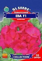 Семена пеларгонии Ева F1 зональная 5 гранул
