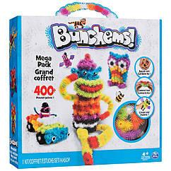Конструктор детский Bunchems Разноцветный 400 деталей 25000, КОД: 116878