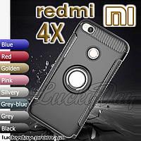 Бампер чехол для Xiaomi redmi 4x (black) черный
