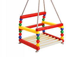 Детские деревянные качели Разноцветные (ss0077022) КОД: 306539