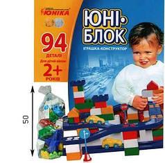 """Конструктор """"Юни-блок"""" 94 детали"""