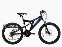 Горный велосипед Azimut Blackmount 24 D ( 16 рама)