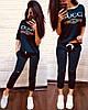"""Женский костюм с принтом """"GUCCI"""" в расцветках. ТУ-2-0319, фото 9"""